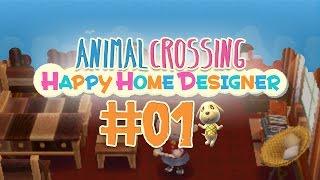 #01 Animal Crossing | Happy Home Designer ★ BIENCHEN