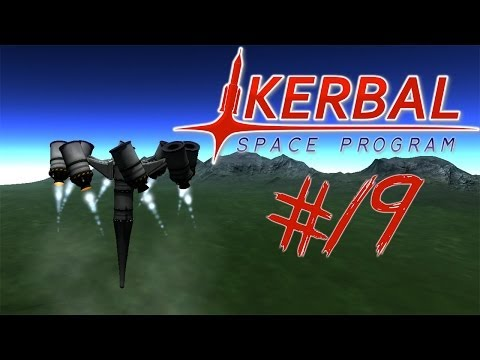 KERBAL SPACE PROGRAM 19 | SPINNY TOP ROCKET