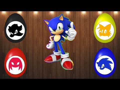 Wrong Puzzles Sonic Boom Surprise Eggs Sonic Amy Rose Knuckles Tails Shadow