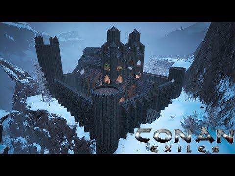 Conan Exiles - Frozen Castle Cathedral (Speed Build)