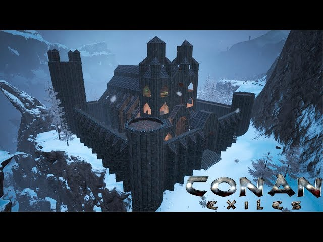 Conan Exiles - Frozen Castle Cathedral (Speed Build)