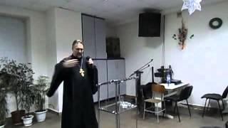 Сергей Журавлев, свидетельство в церкви ХВЕ 2015.12.25 (6 часть ориг.записи)