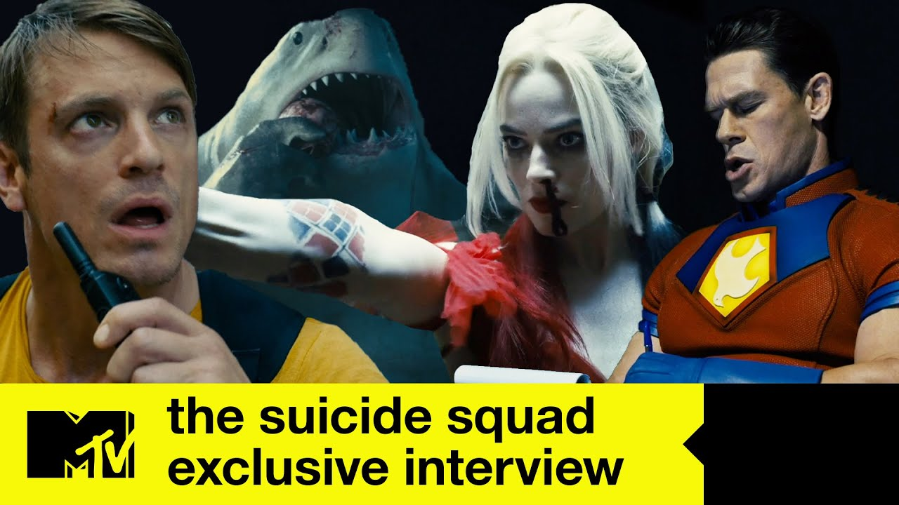 Margot Robbie, John Cena And More Create The Suicide Squad's Dating Profiles   MTV Movies