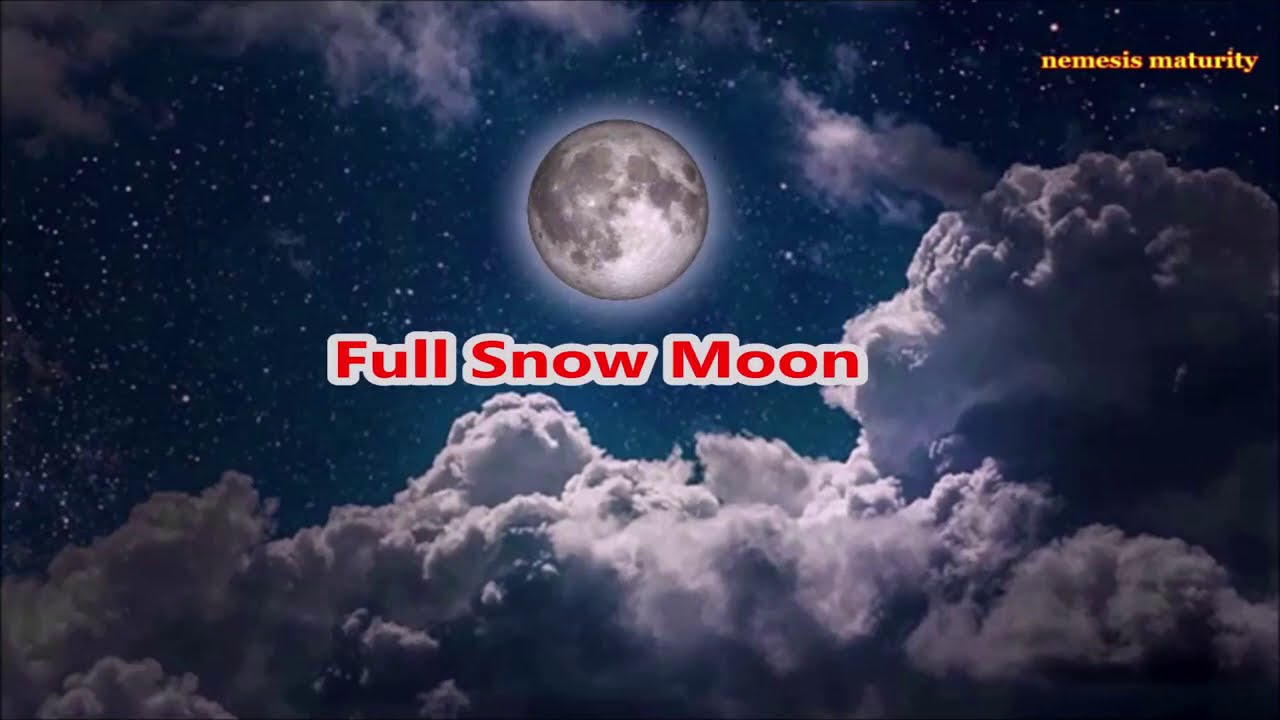 'Snow moon' is coming this weekend, and it might be why you're ...
