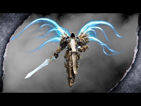 Skyrim: Tyrael Armor ~ El Druin Sword ~MOD SHOWCASE~ /W Killerkev