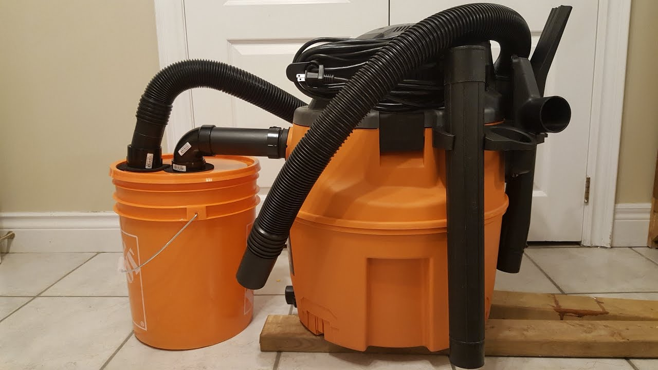 Cyclone dust collector connected to shop vac very simple build cyclone dust collector connected to shop vac very simple build greentooth Choice Image