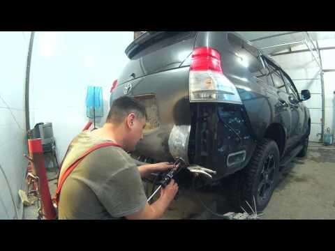 Тойота Прадо 150 Покраска и кузовной ремонт Нижний Новгород.Toyota Prado 150  аuto body repair.