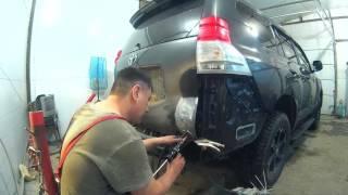 Тойота Прадо 150 Покраска и кузовной ремонт Нижний Новгород.Toyota Prado 150  аuto body repair.(, 2017-02-11T13:41:33.000Z)