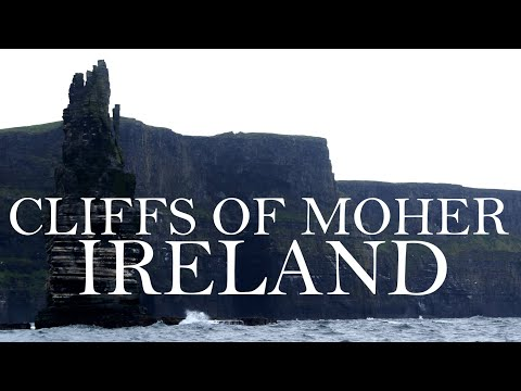 The incredible geology of the Cliffs of Moher (frm the sea)