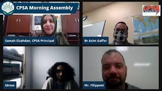 CPSA Morning Assembly Thursday March 18, 2021