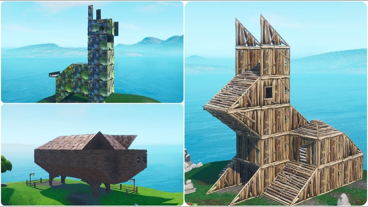 Visit A Wooden Rabbit A Stone Pig And A Metal Llama Locations Guide Fortnite Battle Royale
