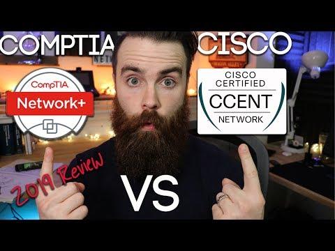 CompTIA Or Cisco? - Revisiting CCENT Vs Network+ In 2019 | CCNA | MTA | MCSA
