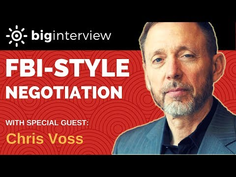 Big Interview Podcast #1 - Chris Voss (former FBI Hostage Negotiator)