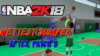 BEST Jumpshot In NBA2K18 After Patch 8! Wettest Jumper In The Game!
