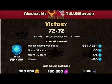 CoC- Almoravids war recap 4/14/17