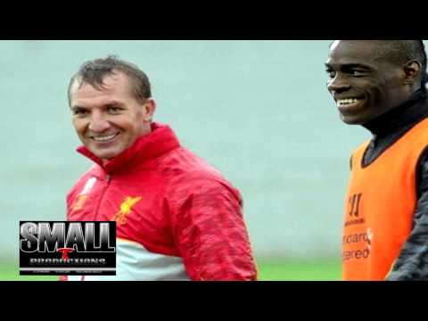 Liverpool F.C. manager Brendan Rodgers rings Mario Balotelli