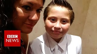 Girl in suit banned from church ceremony - BBC News
