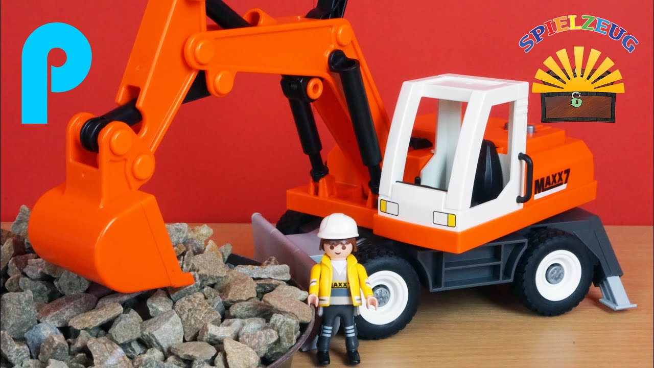 playmobil city action bagger