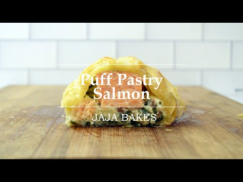 Puff Pastry Salmon (Salmon Wellington) | Jaja Bakes from YouTube · Duration:  9 minutes 44 seconds