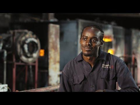 Procera || The Making of a Gin Bottle Feat. Kitengela Hot Glass