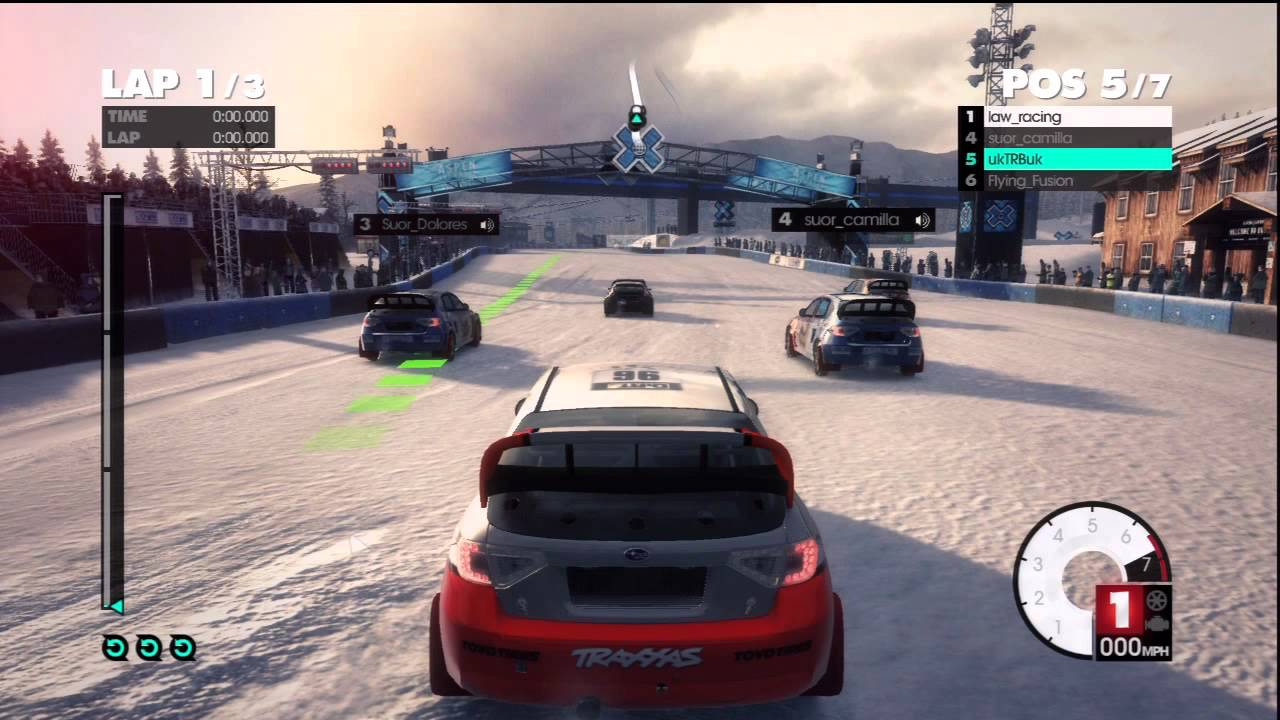 dirt 3 ps3 multiplayer rally cross no 6 rally cross madness youtube. Black Bedroom Furniture Sets. Home Design Ideas