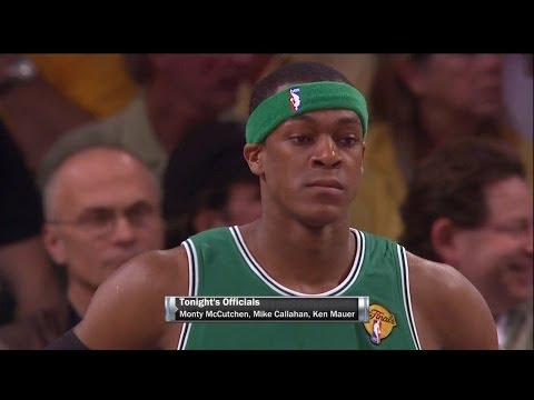 Rajon Rondo Full Triple Double Highlights 2010 Finals G2 at Lakers - 19 Pts, 12 Rebs, 10 Assists