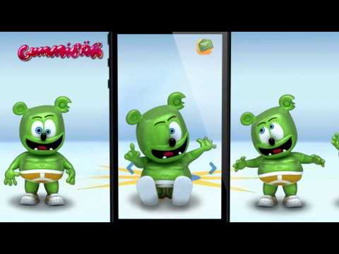 Free Talking Gummibär App Now Available On The iTunes App Store