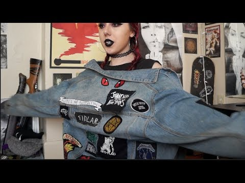 all about my jacket with patches + how to start your own