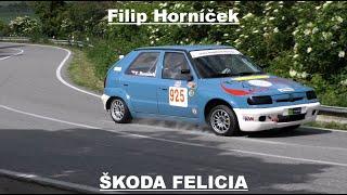Filip Horníček ŠKODA FELICIA Test MREC Násedlovice 2020