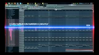 FL Studio - I Can Walk On Water I Can Fly [Basshunter] (FLP Downloadable)