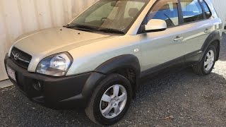 For Sale 2004 Hyundai Tucson SUV (SOLD) Review