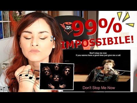 SE CANTI PERDI - QUEEN  99% IMPOSSIBILE