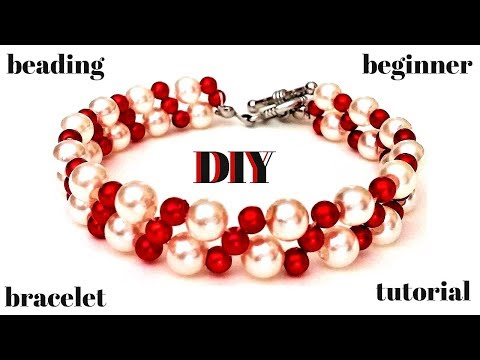 Easy beading pattern for beginners.