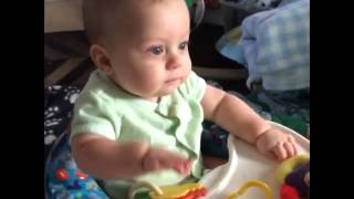Video Baby boy won't take eyes off of TV while trying to find toy download MP3, 3GP, MP4, WEBM, AVI, FLV Juli 2018