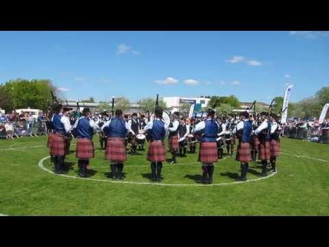 University of Bedfordshire Pipe Band, British Championships, Grade 2 Medley, 2013
