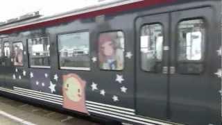 【撮影練習】あの夏で待ってるラッピング列車 1 あの夏で待ってる 検索動画 41