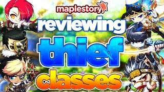 MapleStory: Reviewing Every Thief Class in GMS (2019)