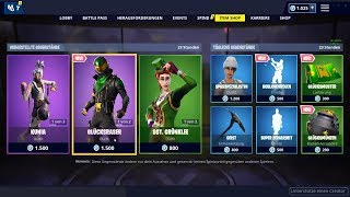 Fortnite Shop 17.3.19 | Sgt.Green clover and lucky razor skins!