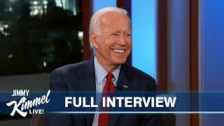 Joe Biden on Ukraine Transcript, Impeachment & Defeating Trump