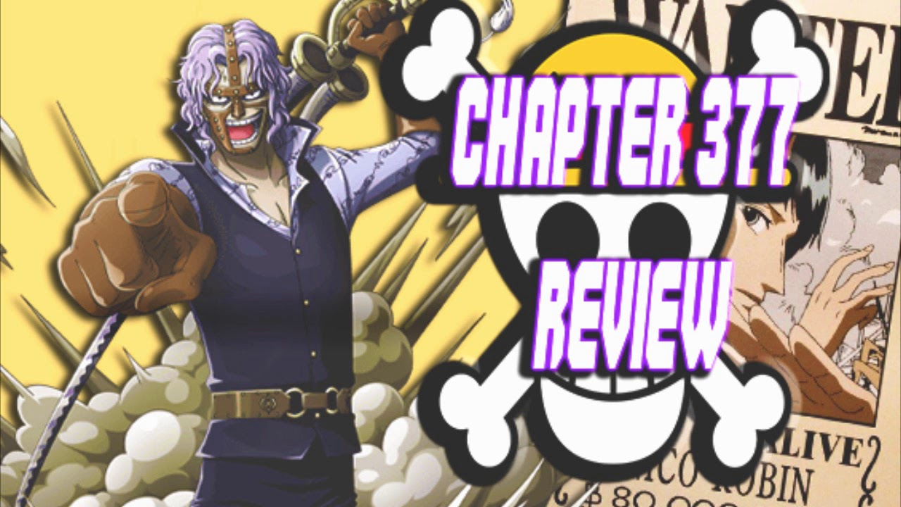 One Piece Chapter 377 Review~The Big Showdown on the Judiciary Island - YouTube