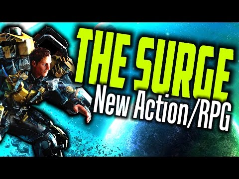 THE SURGE ✦ New Action RPG Game /  Deck13 Interactive /  The Surge Gameplay