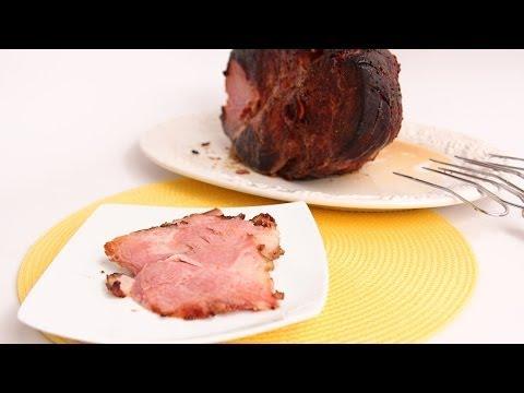 Pomegranate Glazed Ham Recipe - Laura Vitale - Laura in the Kitchen Episode 690
