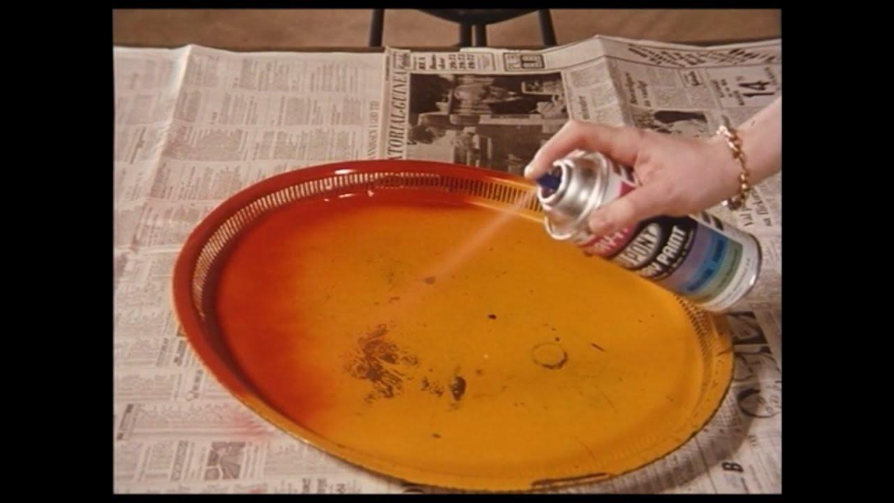 Reklam för Du Pont sprayfärg 1969
