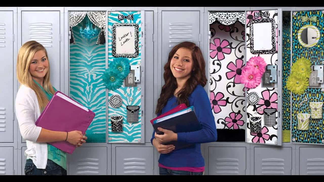 Stunning Locker Decorating Ideas For Girls Youtube