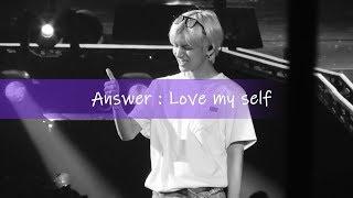 180912 LYS Oakland Answer : Love Myself(BTS 태형 V FOCUS) 크레센도