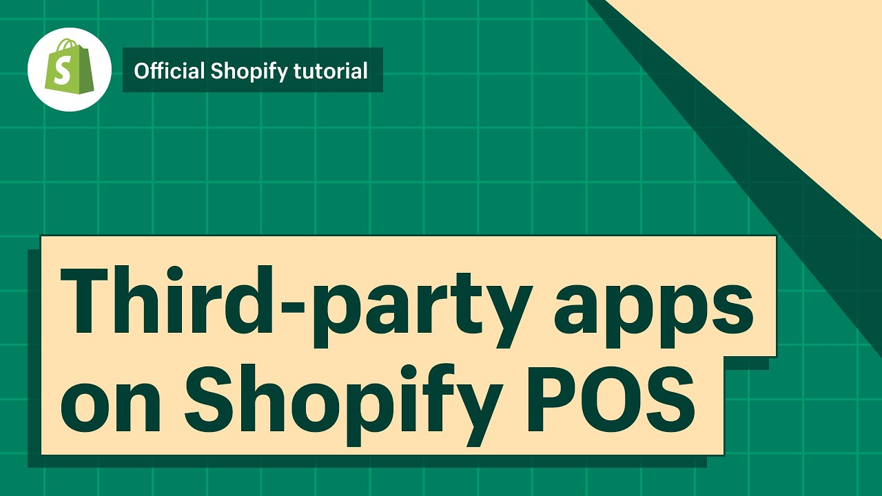 POS: Third-party apps on Shopify POS    Shopify Help Center