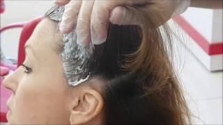 profesyonel saç açma renk kırma işlemi Saç Rengi Açmak  Oryal Nasıl Kullanılır