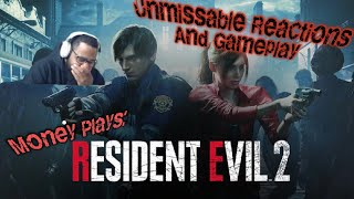 Money Plays: Resident Evil 2 Remake Part 1 REACTIONS AND Gameplay!
