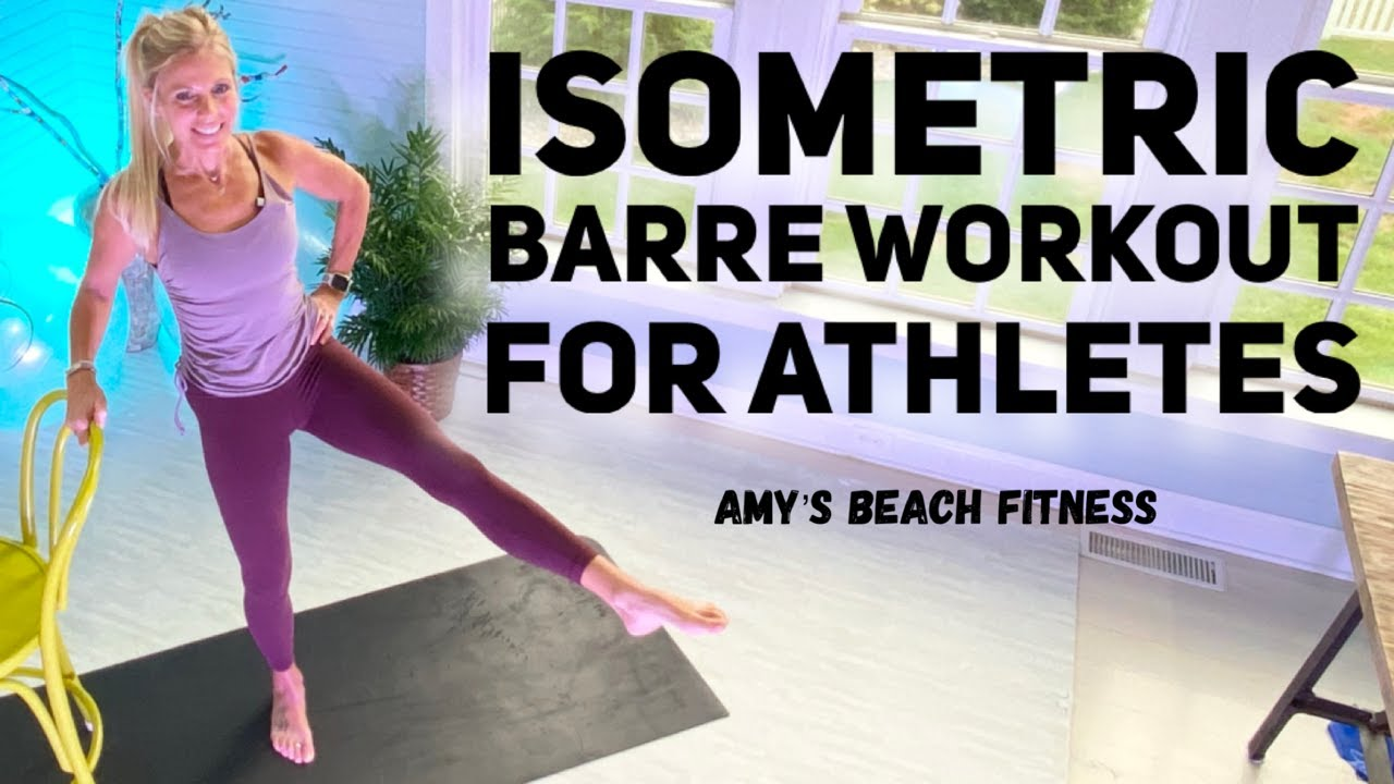 Isometric Barre Workout for Athletes - 40 MIN