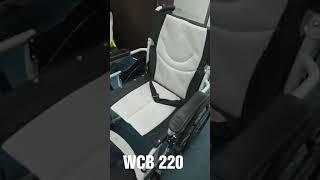 WCB 220 Economy Steel Manual Wheelchair